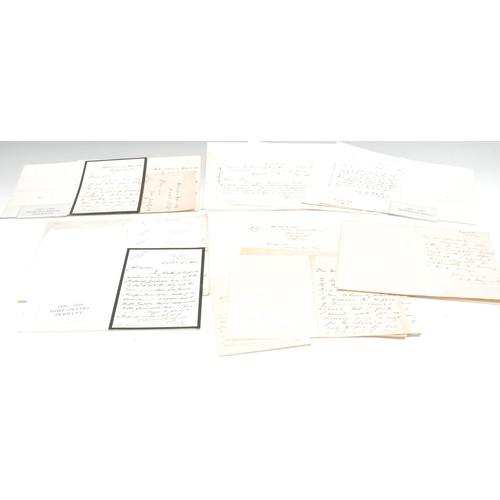 4075 - Local Interest - A quantity of correspondence relating to the Derwent Hall estate, 1896-1901. Derwen...