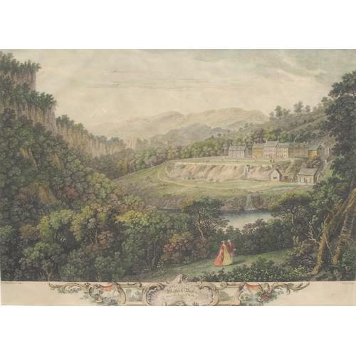 4034 - Local Interest - François Vivares (1709-1780), after Thomas Smith of Derby (d. 1767), two landscapes...