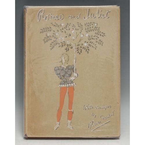 4098 - Oliver Messel (1904-1978) - Shakespeare (William) & Messel (Oliver, illustrator), Romeo and Juliet, ...