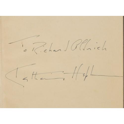 4105 - Richard Aldrich (1902-1986) - Presentation & Association Copies - Three Plays, comprising Massingham...