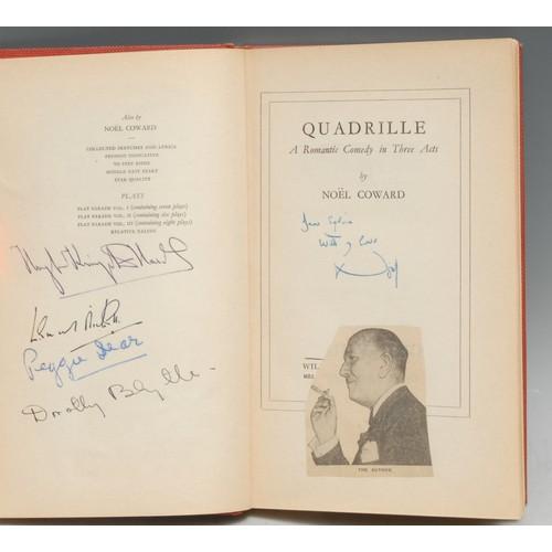 4111 - Sir Noël Coward (1899 – 1973) - Sylvia Coleridge's Autographed Presentation Copy, Coward (Noel), Qua...