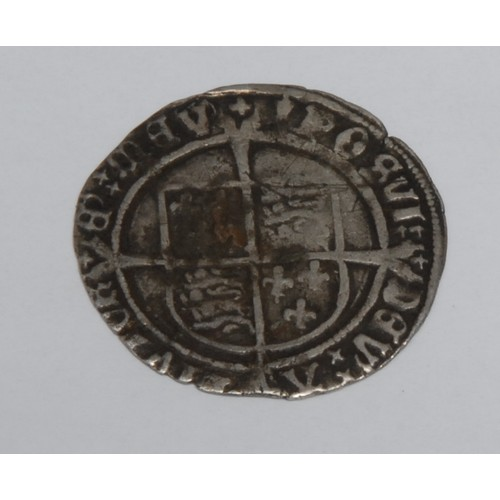 3945 - Coin, GB, Henry VIII type groat  Note this is plated and not a silver Groat of period