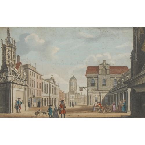 4041 - William Woollett (1735-1785), after John Donowell (fl. 1753-1786), A View of the Conduit (a), part o...