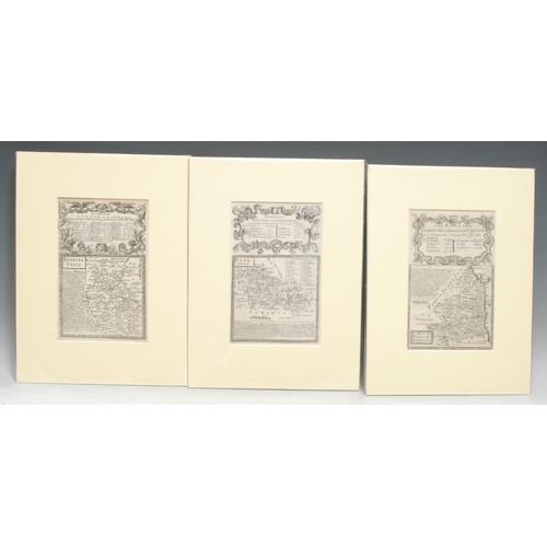 4047 - Emanuel Bowen (1694 - 1767) and John Owen (fl. 1720-1764), after John Ogilby (1600-1676), six variou...