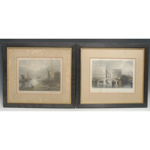 4010 - After Joseph Mallord William Turner RA (1775–1851), a set of nine landscapes, [n.d., 19th century], ...