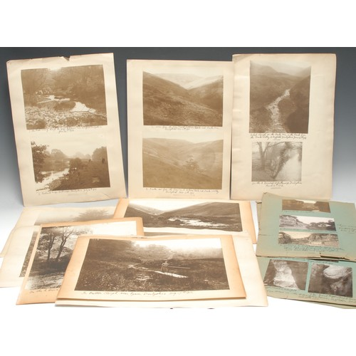 4095 - Photography, Local Interest - Frank Dawson-Smith (1886-1920), by, 70 b/w and sepia photographs of mi...