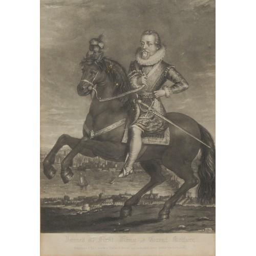 4019 - Charles Turner (1774-1857), after Francis Delaram (fl. 1615-1624), James the First, King of Great Br...