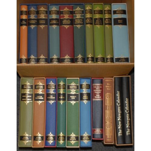 4150 - Folio Society - Trollope (Anthony), The Chronicles of Barsetshire, six-volume set, slipcased as two,...