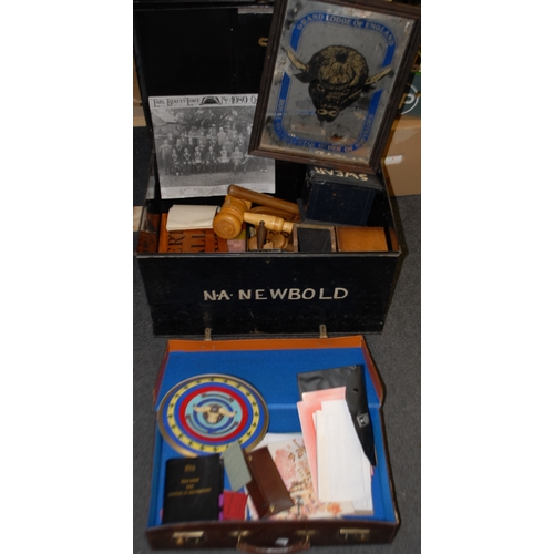 3620 - Friendly Society/Masonic - The Royal Antediluvian Order of Buffaloes (RAOB), a comprehensive collect...
