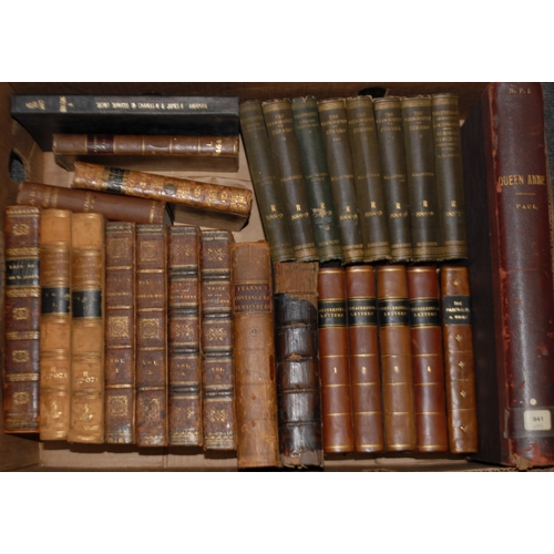 4178 - Miscellaneous - Lord Chesterfield's Letters, four-volume set, seventh edition, London: J. Dodlsey, 1...