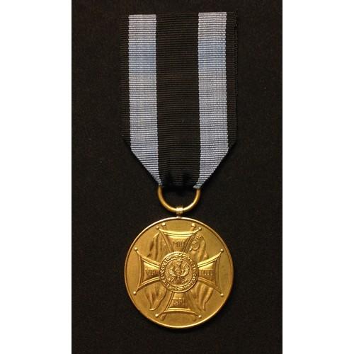 11 - Polish Medal Zasluzonym na Polu Chwalyoland,  Medal for Merit on the Field of Glory 1st Class. First...