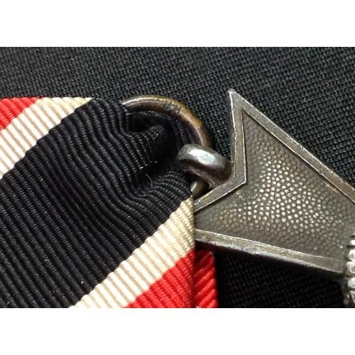 18 - WW2 Third Reich Kriegsverdienstkreuz ohne Schwerten II klasse. War Merit Cross without Swords 2nd cl...