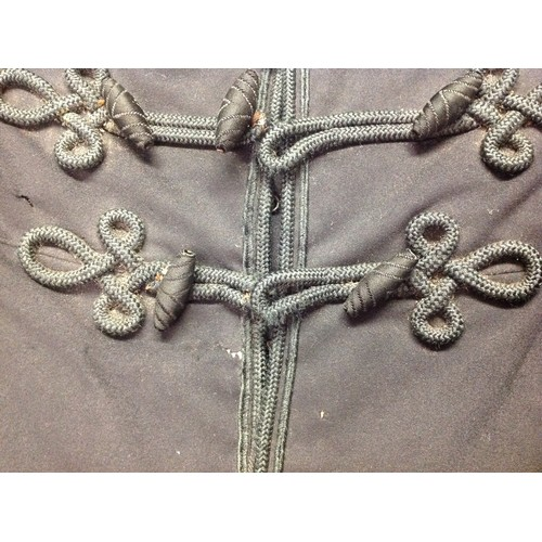 49 - Victorian Army Officers Frock Coat. No makers label. Collar and lining require repair. Hook and eye ...