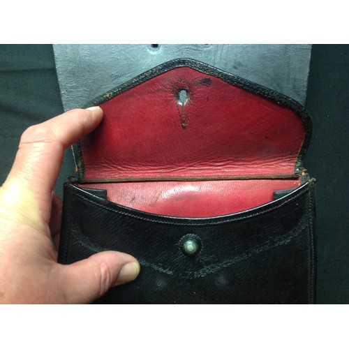 53 - Pair of Victorian Cavalry Officers Sabretashes. Both have three white leather straps attatched. No m...