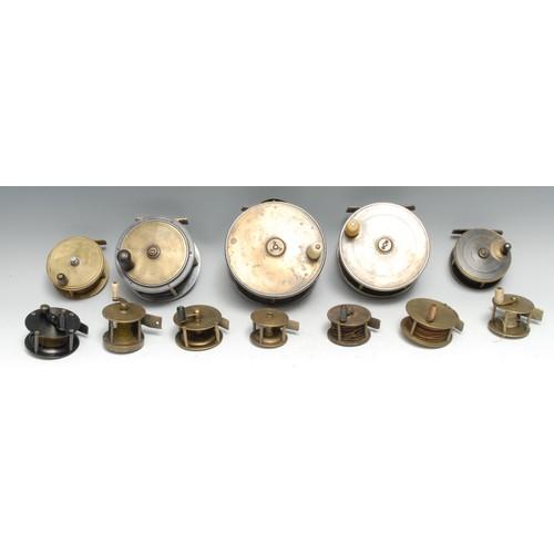 3560A - Angling - a brass 3