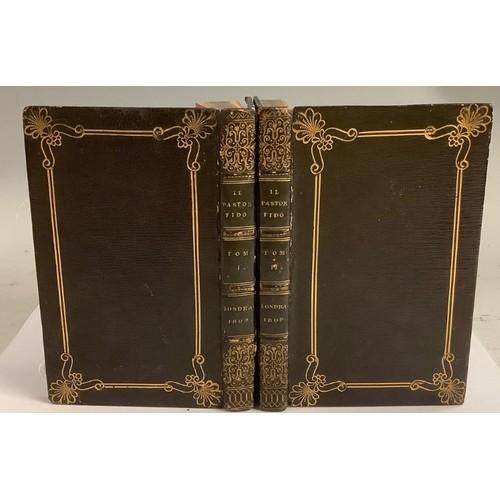 4128 - Bindings - 'Miniature Books', Guarini (Battista) & Boschini (Giovanni Battista, editor), Il Pastor F...