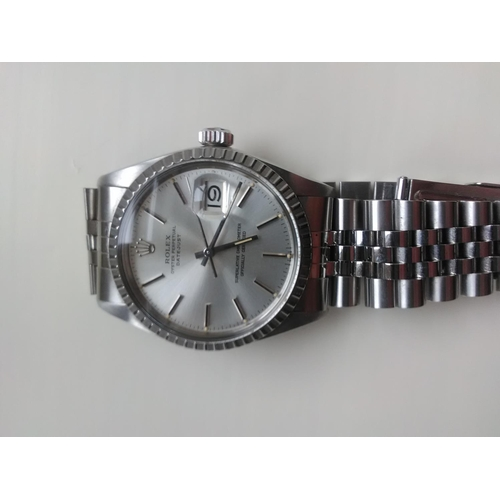 1 - A gentleman's Rolex Oyster Perpetual Datejust wristwatch. Provenance: purchased in South Africa in 1...