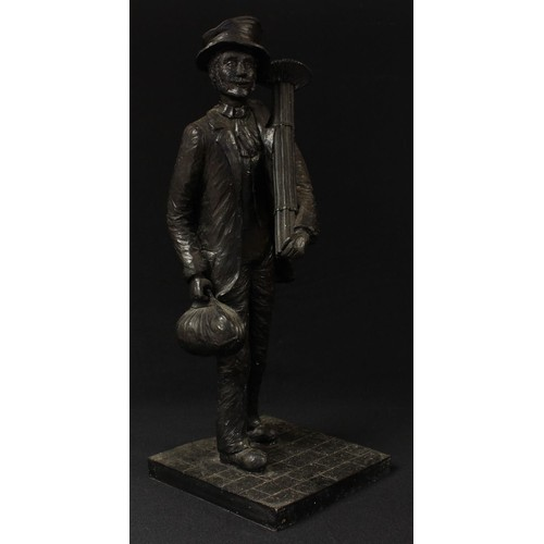 47 - A contemporary model, of a Chimney Sweep, 51cm high