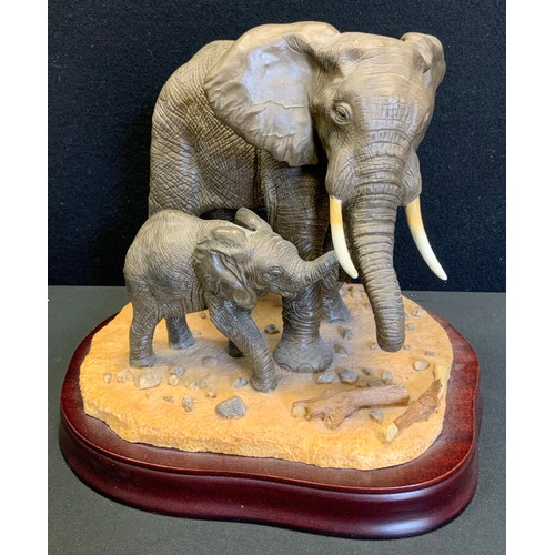 16 - A Brooks & Bentley limited edition figure, Gentle Persuasion, designed by Catherine Dow, 23cm high, ...