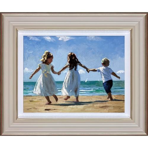 14 - Sherree Valentine-Daines, Sunkissed Memories, limited edition print, 40.6cm x 33cm, framed. Sherree ...