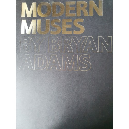 17 - Bryan Adams, Virginia, colour photograph, signed to verso, the original image taken for the book Mod...