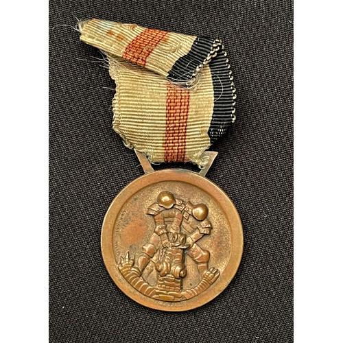 36 - WW2 Third Reich Medaille für den Italiensch-Deutschen Feldzug in Afrika - Italian/German African Cam...
