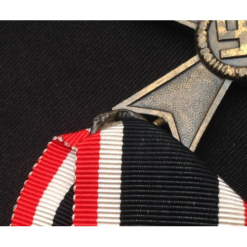 49 - WW2 Third Reich Kriegsverdienstkreuz 2.Klasse ohne Schwertern - War Merit Cross 2nd Class without Sw...