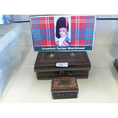 12 - 3 Vintage Boxes...