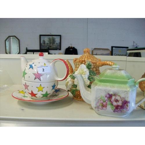 2 - 3 Decorative Teapots...