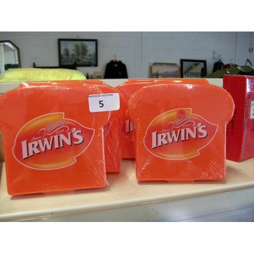 5 - 4 New Plastic Sandwich Boxes...