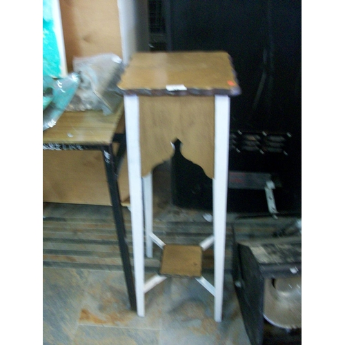 38 - Painted Plant Stand...