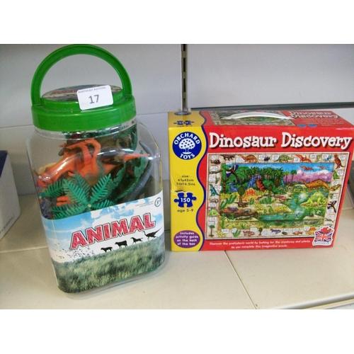 17 - 2 Dinosaur Sets...