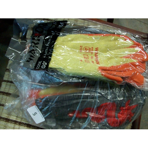 5 - Bag of Work Gloves...