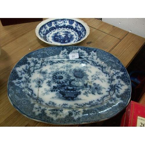 50 - Vintage Bowl & Plate...