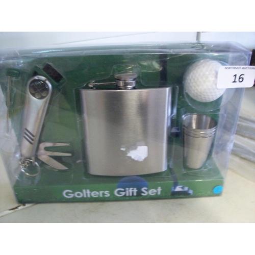 16 - Golfer's Kit Set...