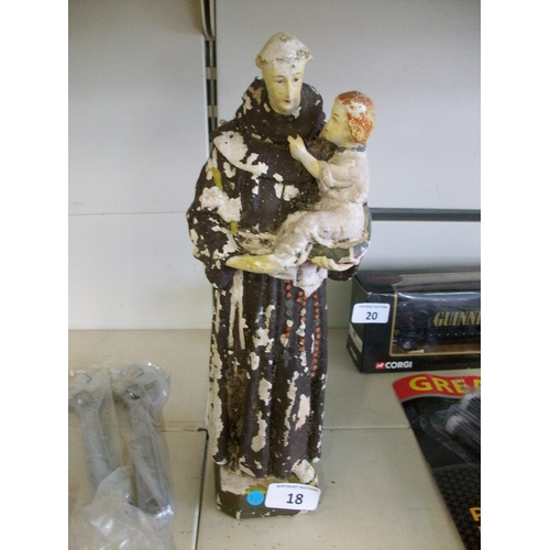 18 - Vintage Religious Statue...