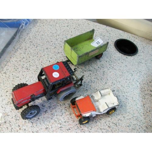 22 - 3 Die Cast Vehicles...