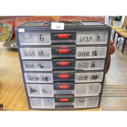 29 - Plastic Storage Box...