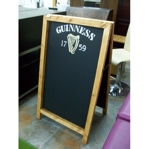 57 - Guinness Double Sided Sandwich Board...