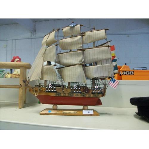 6 - USS Model Ship