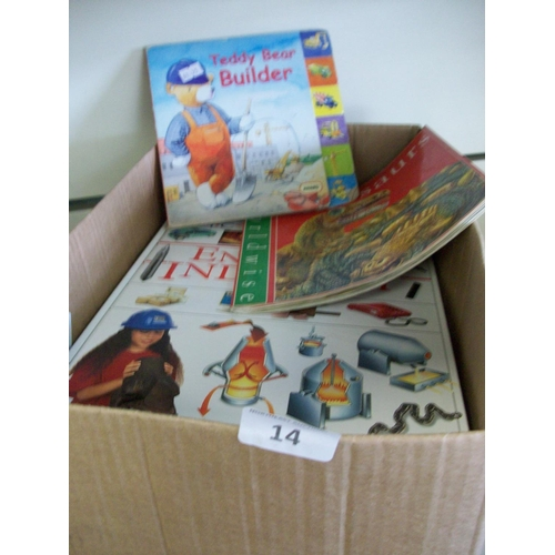 14 - Box Lot of Childrens' Books...