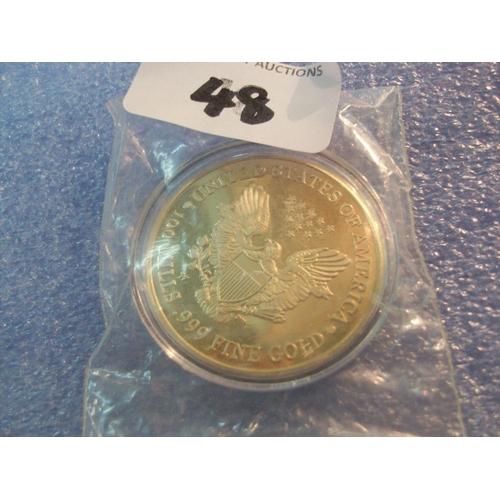 48 - 2000 Liberty 100 Mills Coin...