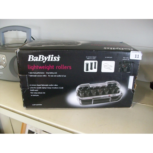 11 - New Bablyiss Lightweight Rollers...