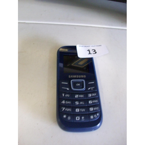 13 - Samsung Mobile Phone...