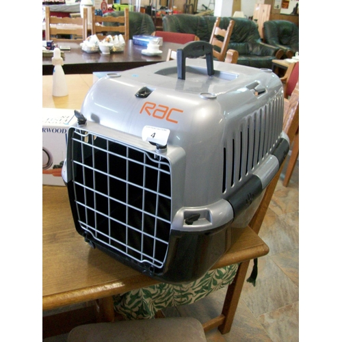 4 - New Pet Carrier Box...