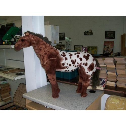 19 - Plush Appaloosa Horse...