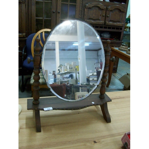 42 - Vintage Dressing Table Mirror...
