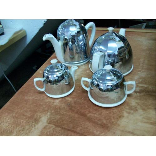 56 - Insulated Tea,Coffee & Sugar Items...