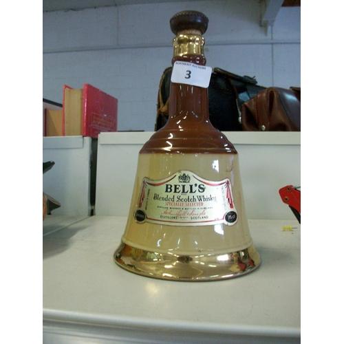 3 - Bells Whiskey Decanter...