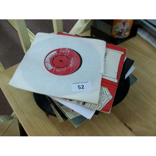 52 - Lot of 45s...